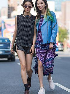 Street Style Fashion Week Spring 2015 - NYFW Street Style Photos - Marie Claire