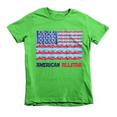 American Allstar Short sleeve kids t-shirt