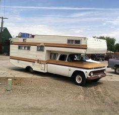 Motor home Truck Bed Camper, Pickup Camper, Camper Caravan, Truck Camping, Camper Trailers, Vintage Motorhome, Vintage Rv, Vintage Travel Trailers, Vintage Campers