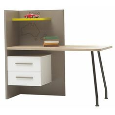 Newjoy My World Children & Teenager's Furniture Set Writing Desk With Drawers, Desk And Chair Set, Art Desk, Writing Table, Bedroom Furniture Sets, Cabinet Handles, Just Kidding, Indoor Air Quality, Types Of Wood