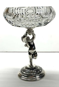 Antiques For Sale, Cherub, Silver Plate, Glass Art, Plating, Pottery, Beautiful, Crystals, Ceramica