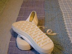 Plimsole of choice for many a teacher to slipper a naughty bottom