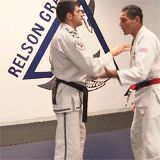 Kelly Magovern — Relson Gracie demonstrating some BJJ self-defense...