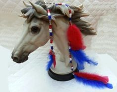 Super cute horse mane feathers