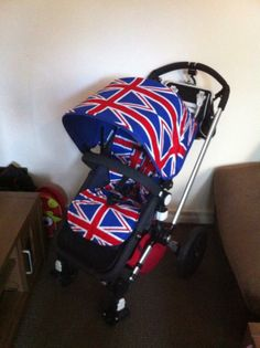 Bugaboo Cameleon Or Frog Union jack Great Britain d18afcc826
