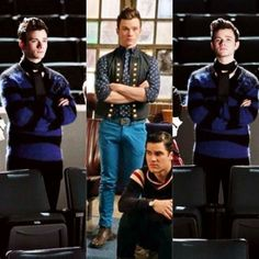 Kurt makes the same pose always.