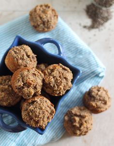 These paleo banana chia bites are naturally sweet and perfectly moist mini-muffins.
