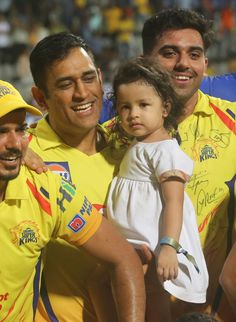 Great Captain-The new God Ziva Dhoni, Ms Dhoni Wallpapers, Chennai Super Kings, New Gods, Mahi Mahi, Mahatma Gandhi, Best Player, My King, Cricket