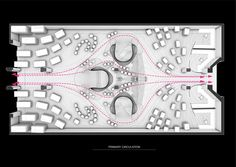 Circulation Plan - Courtesy of Zaha Hadid Architects & London SCience Museum