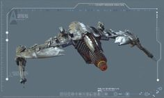 "Klingon patrol ship Qo'NoS for ""Star Trek Into Darkness"" #startrek #klingons #intodarkness #jjabrams #abramsverse #Qo'noS"