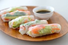 Vietnamese Fresh Spring Rolls with Shrimp - Vietnamese Foody