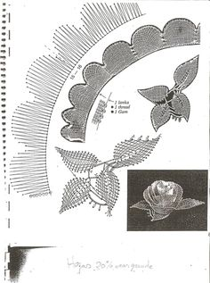 "Bobbin Lacemakers Association ""Ibn al Bitar"" Rose pattern Doily Art, Lace Art, Bobbin Lace Patterns, Embroidery Patterns, Daisy Patches, Bobbin Lacemaking, Drawn Thread, Lace Jewelry, Tatting Lace"