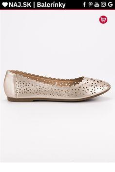 Ažúrové zlaté baleríny VINCEZA Tommy Hilfiger, Platform, Adidas, Shoes, Fashion, Shoes Outlet, Fashion Styles, Shoe, Footwear