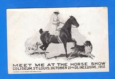 Meet me in St Louis Horse Show 1912 George Ford Morris