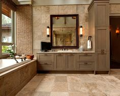 Bathroom Cabinet On Vanity Design, Pictures, Remodel, Decor and Ideas - page 17