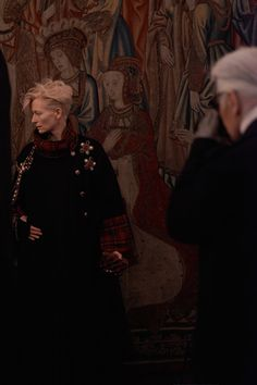 MAKING OF THE CHANEL CAMPAIGN WITH TILDA