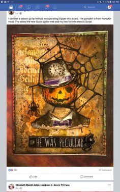 Halloween Tags, Spirit Halloween, Halloween Ideas, Pumpkin Head, Art Journal Pages, Distress Ink, Tim Holtz, Ranger, Stamping