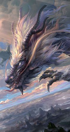 Mythical Creatures Art, Mythological Creatures, Magical Creatures, Yuumei Art, Dragon Oriental, Cool Dragons, Dragon Artwork, Dragon Pictures, Fantasy Monster
