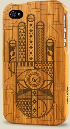 Really cool iPhone covers made in Portland. iPhone 4 and iPad Cases by Grove | Grove