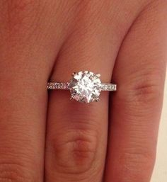 Simple engagement rings that every women wants 12