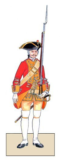 Chevallerie Infantry - Project Seven Years War