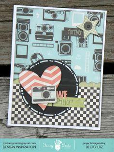 We Click card - Scrapbook.com