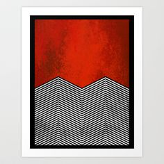 "Twin peaks ""David Lynch"" Art Print by Thomas Jarry - $15.60"