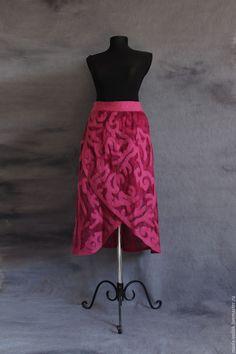 Купить Юбка - орнамент, юбка, юбка женская, юбка на штаны, юбка на джинсы, юбка с рисунком Wrap Around Dress, Wool Scarf, Felting, Ballet Skirt, Skirts, Dresses, Fashion, Vestidos, Moda