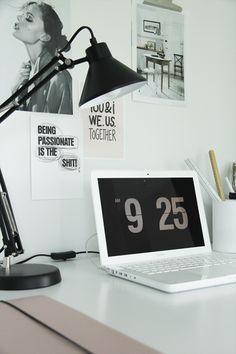 Modern Workspace  :: White MacBook - Elisabeth Heier at Work