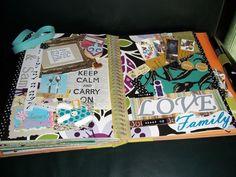 Smash Book page - Scrapbook.com