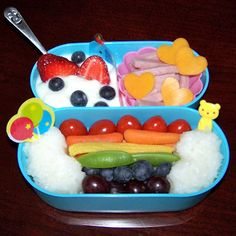The Princess and the Tot: Bento Gallery...healthy and fun lunches to make clearly on my days off
