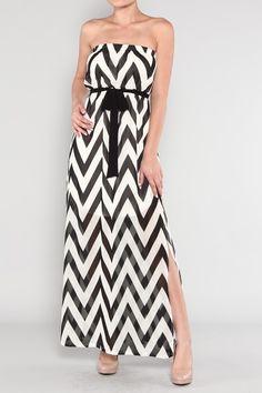 Home > Dresses >       I Zig You Zag Maxi Dress