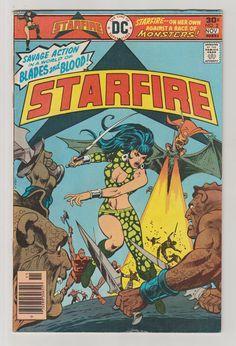 Starfire Vol 1 2 Bronze Age Comic Book.  by RubbersuitStudios #starfire #comicbooks #etsy