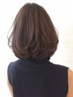 Popular Short Haircuts and Hairstyles for Thick Hair Medium Hair Cuts, Short Hair Cuts, Medium Hair Styles, Curly Hair Styles, Medium Layered Hair, Popular Short Haircuts, Long Bob Haircuts, Shoulder Length Hair, Great Hair