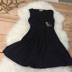 Black Sleevless skater dress Great condition, worn once, no tags! Monteau Dresses Mini