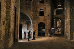 Rocca Paolina in Perugia in Umbrie, Italie door Steve #McCurry in 'Sensational Umbria' | www.regioneumbria.eu