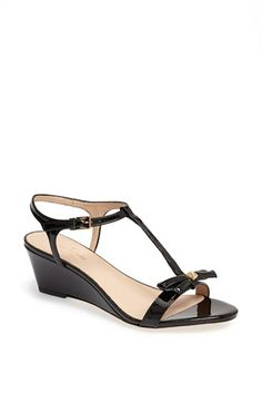 fc28c2b5a97a kate spade new york  donna  wedge sandal available at  Nordstrom Black  Wedge Sandals