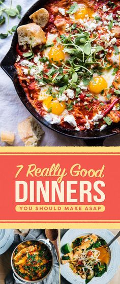 Literally Just 7 Really Good Dinners You Should Make This Week