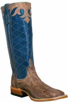 Mens Cowboy Boots Anderson Bean Mouse Moreno Square Toe Boots