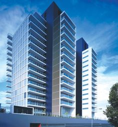Altair Kings - Ian Moore Architects Exterior View #apartmentdesign #architecture #architecturaldesign #modern