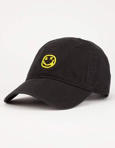 92147d8f94def BLUE CROWN NIRVANA Dad Hat - BLACK - RRNV2018. Nirvana LogoDad HatsMen s ...