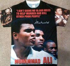 Pre-order Men's Muhammad Ali All Over Tee 2 by AdornMeGoddess on Etsy