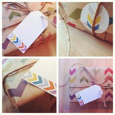 Gift Wrap Kit - Follow the Arrow by ToodlesNoodles on Etsy, $12.00