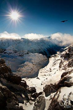 Mount Titlis between between the cantons of Obwalden and Berne, Switzerland | flickr