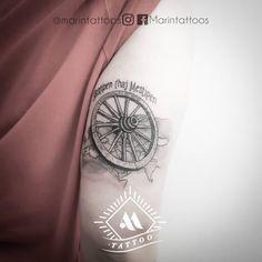 """Marín® 🔹Tattoo Artist🔹 en Instagram: """"•BANDERA GITANA• Representación de la bandera del pueblo gitano, para los que no la conozcan consiste en una rueda de carruaje con los…"""""""
