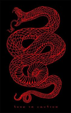 This small snake tattoo is edgy and cool, and we like that it looks as if it's a. - picture for you Collage Mural, Photo Wall Collage, Red Aesthetic Grunge, Aesthetic Art, Aesthetic Vintage, Aesthetic Pictures, Devil Aesthetic, Aesthetic Women, Aesthetic Black