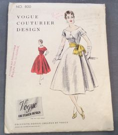 VCD 800 Dress 1954 Sz14/32/35 11pcs c/c used sld 14.95+3.95 1bd 7/10/16