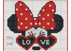 Graph Crochet, Bead Crochet, Crochet Patterns, Counted Cross Stitch Patterns, Cross Stitch Embroidery, Christmas Canvas, Needlepoint Designs, Tapestry Crochet, Disney Crafts
