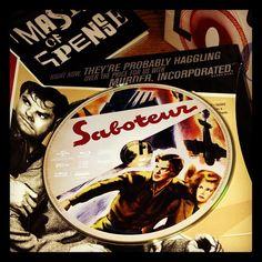 Saboteur - Hitchcock Blu-ray set