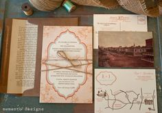 Invitations and maps
